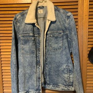 Gap 1969 Women's Sherpa pleated Jacket Jacket
